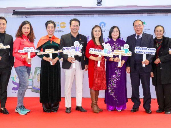 Lễ họp báo ra mắt ứng dụng sức khỏe S-Health