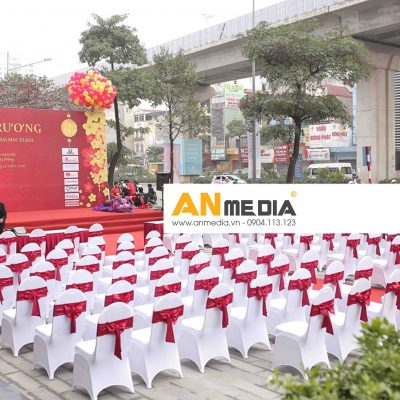 AN Media cho thuê bàn ghế hội nghị MB Bank Cát Linh